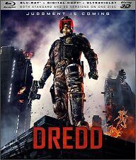 Dredd [3D Blu-ray/Blu-ray + Digital Copy + UltraViolet] SEALED