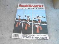 JAN 1978 SKATEBOARDER skateboarding magazine BOBBY PIERCY