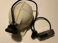 MSA Combo Cap G Edison Electric Battery Coal Miners Helmet Lamp Hat