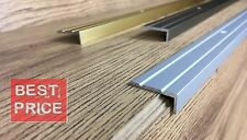 ALUMINIUM ANTI NON SLIP STAIR EDGE NOSING - STEP EDGING TRIM - 25x10 mm