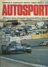 Autosport April 23rd 1970 *Spanish Grand Prix & Lotus Elan +2 & Europa Test*