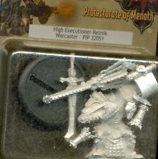 PRIVATEER PRESS WARMACHINE PIP 32051 WARCASTER HIGH EXECUTIONER SERVATH REZNIK
