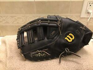 """Wilson A2823 Signature Ed 13.25"""" Baseball Softball First Base Mitt Left Throwing"""