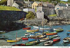 Postcard  Cornwall Coverack  posted  Hinde