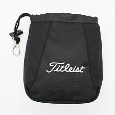 New Titleist Golf Essential Valuables Pouch Black White TA6ESVP-0