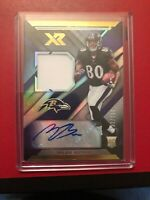 2019 PANINI XR MILES BOYKIN AUTO ROOKIE PATCH RPA CARD /199 RAVENS
