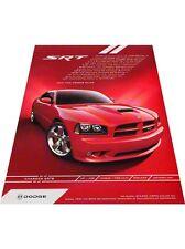 2008 2007 Dodge Charger SRT SRT8 Vintage Advertisement Car Print Ad J412