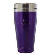 Lincoln Purple Stainless Travel Mug