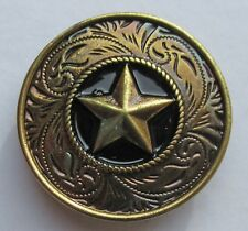 Badge broche étoile métal coulé pins plaque vis métallique Cast Metal