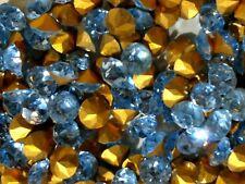 SS 35 Dentelle Light Sapphire Stones Vintage Czech 288 pcs