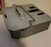 Pinball metal coin box with lid Bally Williams EXCELLENT CONDITION!