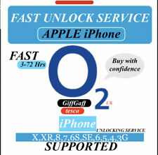 FAST iPhone UNLOCK SERVICE✅O2 uk✅iPhone X,XR,8,7,6,5,4,3G SUPPORTED✅3-72Hrs✅✅✅