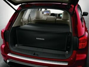 2013-2020 Nissan Pathfinder Rear Black Foldable Cargo Area Trunk Cover OEM NEW