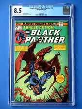 Jungle Action #15 - Featuring Black Panther - CGC 8.5