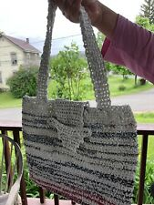 Plarn Crochet Tote Bag From Recycled Plastic Bags(plarn)—Batooli Bags