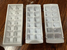 New listing Ice Cube Trays Set of 3 White Stackable Excellent Condition
