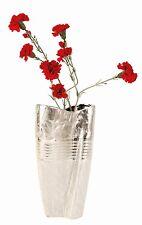 Vaso in argento in ceramica per piante
