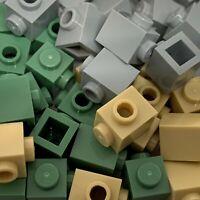 New - Lego 50 Technic Brick 1x1 w/ Stud 87087 Choose Your Colour Tan/Green/Grey