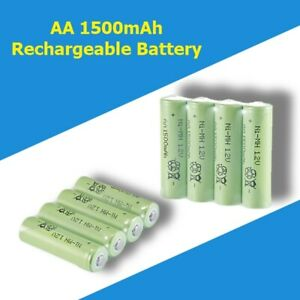 1500mAh AA /1580mAh AAA Rechargeable Battery NI-MH 1.2V with charger