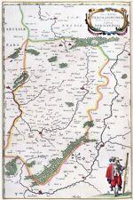 Reproduction carte ancienne - Vermandois 1663