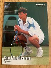 2003 NETPRO TENNIS TRADING CARD - RAFAEL NADAL (ROOKIE CARD)