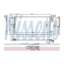 Fits Ford Grand C-Max 2.0 TDCi Genuine OE Quality Nissens A/C Air Con Condenser