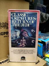 Star Wars Classic Creatures Return Of The Jedi 1985 VHS