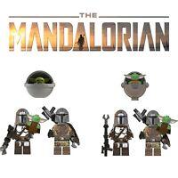 Star Wars The Mandalorian Baby Yoda Custom Building Blocks Minifigures For Lego