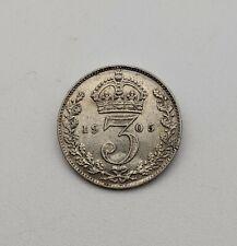 More details for 1905 threepence king edward vii united kingdom