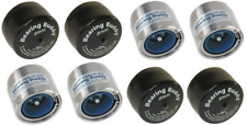 (4) 1.980 Boat Trailer Bearing Buddy Stainless Steel w/ Protective Bra (2 Pairs)
