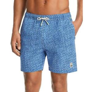 Psycho Bunny Mens Printed Beachwear Shorts Swim Trunks BHFO 3769