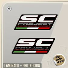 PEGATINA KIT SC ADVANCE PROYECT EXHAUST SYSTEM VINYL STICKER DECAL ADESIVI