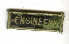 Obsolete Modern Canadian Army CADPAT ENGINEERS Title