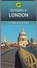 50 Walks in London by AA Publishing (Paperback) New Book