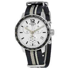 Tissot Quickster Chronograph Silver Dial Men's Watch T0954171703710