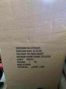 Sideshow Collectibles The Joker Premium Format Figure Exclusive