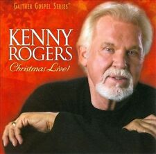 ROGERS, KENNY - CHRISTMAS LIVE!  CD NEW from Gaither Gospel Series