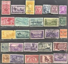 United States American Lot Of 27 Older Stamps