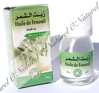 Huile de Fenouil (Macérât) 100% Naturelle 30ml Fennel Oil, Aceite de Hinojo