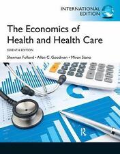The Economics of Health and Health Care: International Version, Folland, Sherman