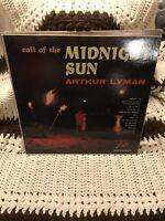 ARTHUR LYMAN ~ CALL OF THE MIDNIGHT SUN  VINYL RECORD LP / EXOTIC SOUNDSCAPES