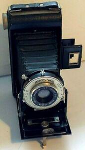 Kodak Six 20 Folding Brownie 620 Film Camera Anaston 100mm f/6.3 Mount 370 Dakon