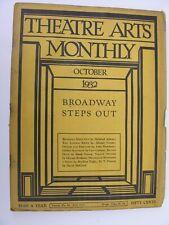 More details for theatre arts monthly oct 1932 doris humphrey george kaufman vsevolod meyerhold