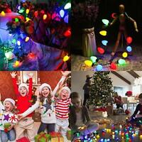 US! Christmas LED Light Up Necklace ideas Necklace Jewelry Xmas Bulb Party Gift