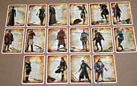 Assassin's Creed Cards Card Set from Brotherhood Codex Edition Xbox 360 PS3