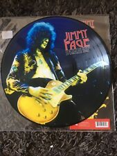 Jimmy Page BURN UP PICTURE DISC NM UNPLAYED LED ZEPPELIN CRAZY Rare