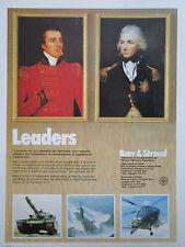 11/1982 PUB BARR & STROUD PILKINGTON IMAGERIE THERMIQUE PERISCOPE TELEMETRE AD