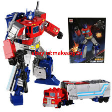 "Black Mamba Transformers Power of  the Primes Optimus Prime Figure 12"" Toy"