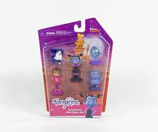 Disney Junior Vampirina Spooktastic 5 Mini Figure Set Poppy Demi Wolfie Gregoria