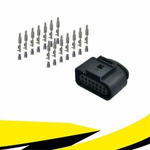 Buchse 14-polig Reparatursatz 6X0973717 für VW AUDI SKODA SEAT MT Crimp Kontakt
